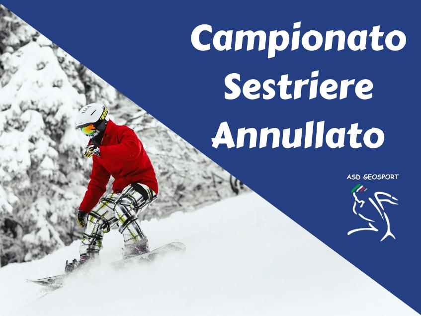 annullamento campionato sci nordico e alpino coronavirus